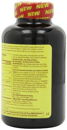 Nature Made Omega-3 深海鱼油胶囊 1000mg * 150粒图片