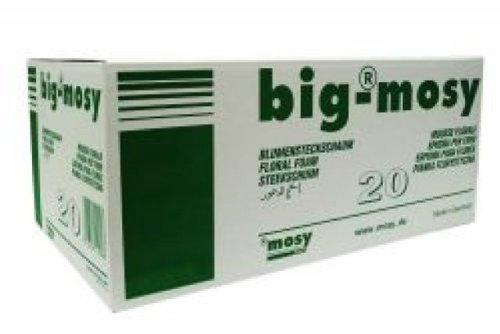 027 0010 990 mosy steckschaum ziegel ii wahl 20 stck for Floristik versand