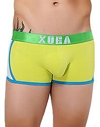 Xuba Men's Cotton Trunk (XB1411211021_Yellow_S)