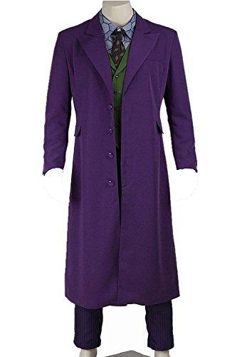 [Dben Mens Cosplay Costume Tunic Joker Uniform] (Malcolm Merlyn Costume)