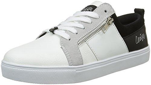 Le Temps des CerisesMira - Sneaker Donna , Bianco (Blanc (Day Night)), 37