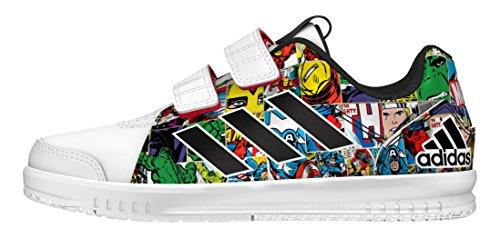 adidas-lk-marvel-cf-c-scarpe-da-ginnastica-da-bambini-taglia-34-colore-bianco