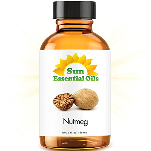 Nutmeg (2 fl oz) Best Essential Oil - 2 ounces (59ml)