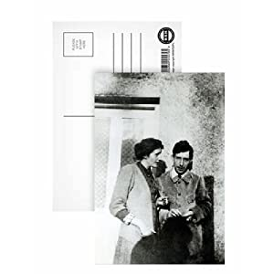 Virginia (1882-1941) and Leonard Woolf.. - Postcard (Pack of 8) - 6x4 inch - Art247 Highest Quality - Standard Size - Pack Of 8