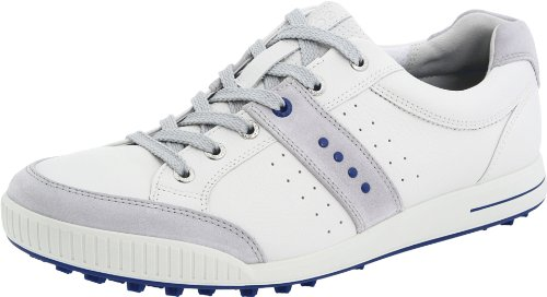 Ecco 2012 ''Freddy Couples'' Street Golf Shoes - White - UK 8 - 8.5 EU 42