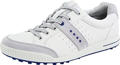 Men's Ecco, Golf Street Premier hybrid lace up casual WHITE 45 M