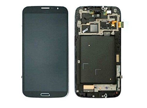 Samsung Galaxy Mega 6.3 I9205 I9200 Full Lcd Dispaly Assembly+Touch Digitizer Black +Middle Chassis/Frame