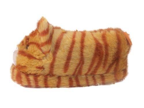 Happy Feet Cat Slipper Medium D(M) US Orange