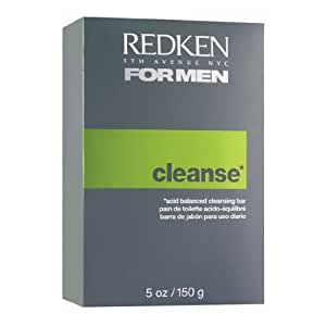 Redken for Men Cleanse Acid Balanced Cleansing Bar, 5 Ounce