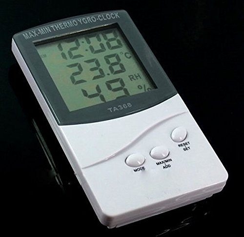 Lanlan Digital Lcd Indoor/Outdoor Humidity/Hygrometer And Thermometer Ta318 20699