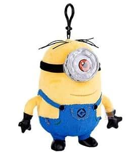 Amazon.com: Despicable Me Minions Stuart 7.5 inch Plush Backpack Bag