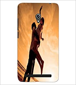 PrintDhaba Couple D-2241 Back Case Cover for ASUS ZENFONE 6 A601CG (Multi-Coloured)