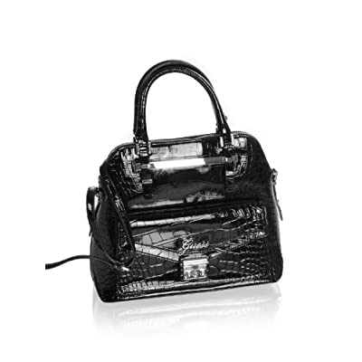 Guess Kora Dome Black Small Satchel