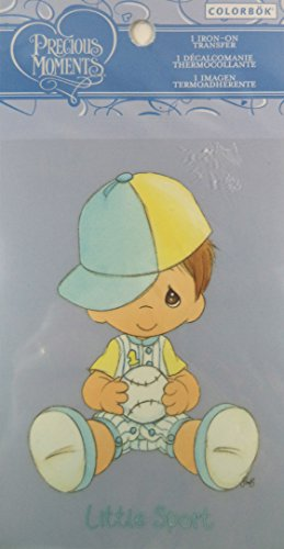 "Colorbok Precious Moments Iron On Transfer ""Little Sport"". front-1020817"