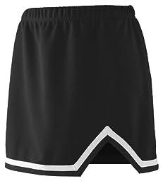 Augusta Sportswear Girls Energy Skirt, M, Black/White