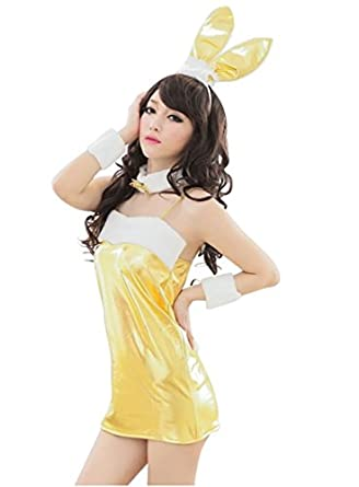 Spicy girl Plush Bunny Lady Uniform Temptation Gallus Role Play Suits WWA-28E