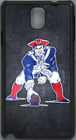 =>  NFL New England Patriots PC Hard Shell Black Skin Cover Case for Samsung Galaxy Note 3 N9000 by Qinchao Sports #21