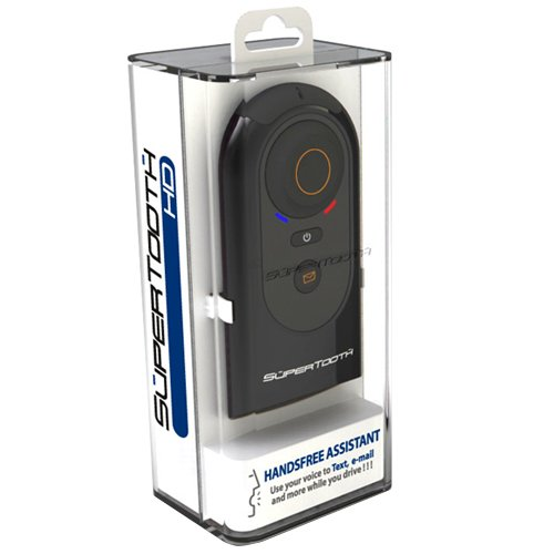 Supertooth Hd Bluetooth Speakerphone Car Kit With Voice To Text And E-Mail