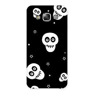 Skull Star Back Case Cover for Galaxy E7