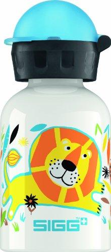 Sigg Jungle Family Water Bottle, White, 0.3-Liter front-546632