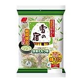 三幸製菓 雪の宿 抹茶ミルク味 22枚×12袋