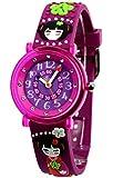 Baby Watch - 606023 - Kyoto - Montre Fille - Quartz Pédagogique - Cadran Violet - Bracelet Plastique Violet