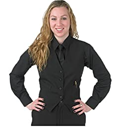 Henry Segal Vests for Women (xxxl 51-52 bust, black)