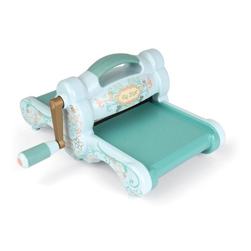 Sizzix 657900 Big Shot Cutting and Embossing Roller Style Scrapbooking Die-Cut Machine, Powder Blue and Teal