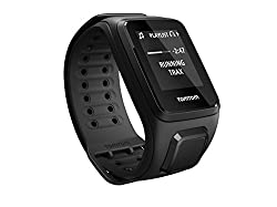 TomTom Spark 1REM.003.05 Music GPS Fitness Watch (Small, Black) with Headphones