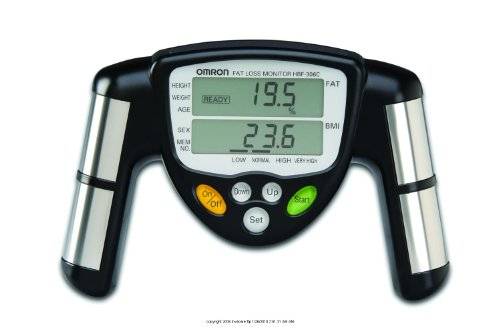 Cheap Omron Fat Loss Monitor, Bodylogic Body Fat Analyzer, (1 EACH, 1 EACH) (UHS-MARHBF306C-1EACH)