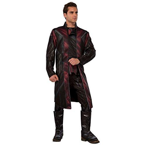 [GSG Hawkeye Costume Adult The Avengers Marvel Hero Halloween Fancy Dress] (Honey Monster Costume Xl)