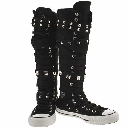 4a81b60d6db converse knee high sneakers with buckles