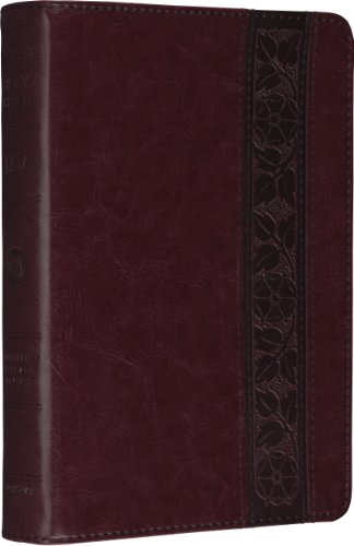 ESV Personal Size Reference Bible (TruTone, Mahogany, Trellis Design) (Esv Personal Size Study Bible compare prices)