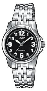 Amazon.com: Casio LTP-1260D-1BEF Ladies Watch Quartz Analogue Black