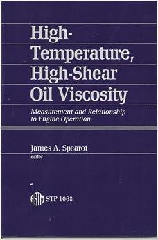 High Temperature High Shear Oil Viscosity Measurement