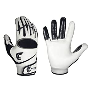 Cutters Pro Baseball Gloves (White, X-Large) by Cutters