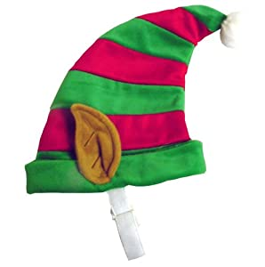 Kyjen PP01870 Elf Hat Dog Holiday Accessory, Large, Green