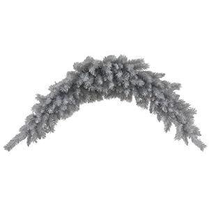 Vickerman 33991 - 6' Silver White Pine Swag Christmas Garland (N135209)