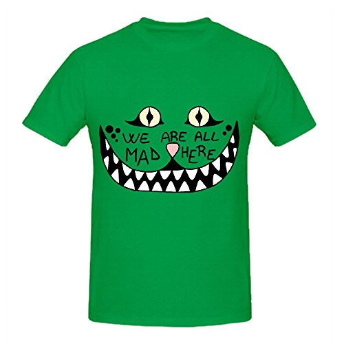 we-are-all-mad-here-mens-crew-neck-funny-shirts-green