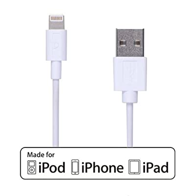 iPhone Charger, [Apple MFi Certified] Gear Beast Extra Long Lightning Cable 6 Feet (1.8 Meter) iPhone Cable for iPhone 6s, iPhone 6s Plus, iPhone 6, iPhone 6 Plus, iPhone 5, iPhone 5C, iPhone 5S, iPad Air, iPad Air 2, iPad 4, iPad Mini, iPad Mini 2, iPad