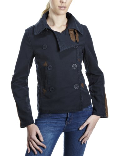 Timberland Women's Cropped Pea Coat Blue 28446-411