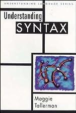 Understanding Syntax by Tallerman