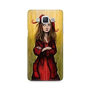 MOBICTURE Girl Abstract Premium Designer Mobile Back Case Cover For Samsung A5