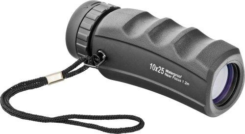 Orion 08448 10X25 Waterproof Pocket Monocular (Black)