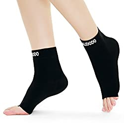 Plantar Fasciitis Socks with Arch Foot Support Compression Foot Sleeves for Effective Heel Arch Ankle Support Improves Circulation Soothes Achy Feet Minimizes Foot Pain 1 Pair Black Medium