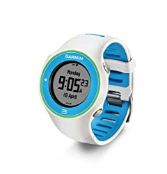 Garmin Forerunner 610 Touchscreen GPS Watch - Multicolor (White-Blue) by Garmin