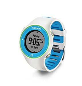Garmin Forerunner 610 Touchscreen GPS Watch - Multicolor (White-Blue)
