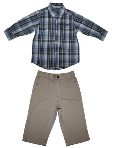 2-pcs-satz-kenneth-cole-reaction-boys-plaid-shirt-und-hose-satz-7-mehrfarbig