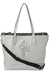 Cole Haan Belport Double Travel Tote, Paloma Grey, One size