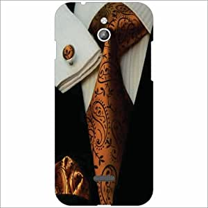 Infocus M2 Back Cover - Silicon Formals Designer Cases